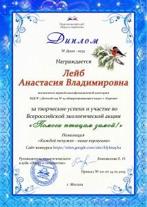 Лейб Анастасия Владимировна