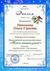 Николаева Ольга Юрьевна
