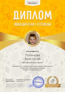 1Логинова Анастасия